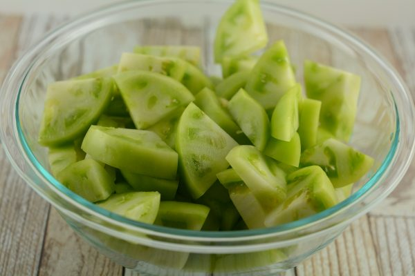 Cut Green Tomatoes