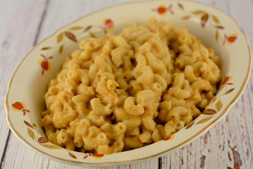 Sweet Potato Mac and Cheese