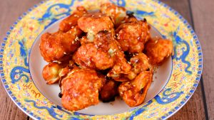 "Korean Fried Cauliflower ""Wings"""