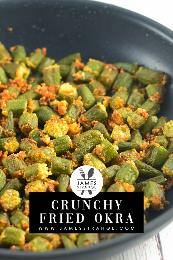 Crunchy Fried Okra Recipe