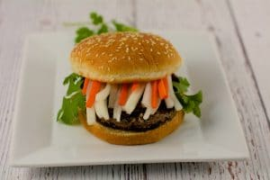 Baked Black Bean Burger