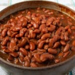 Instant pot red beans 🍽